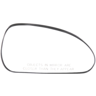 Fits 06-12 Mitsu Eclipse Right Pass Heated Mirror Glass w/Rear Holder