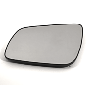 Fits 08-14  Lancer Left Driver Mirror Glass w/Rear Holder