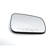Fits 08-14 Mitsubishi Lancer Right Pass Heated Mirror Glass w/Rear Holder