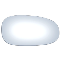 Fits 93-95 Maz RX-7 Right Passenger Convex Mirror Glass Lens