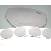 Fits 10-15  CX-9 Right Pass Mirror Glass Lens for Blind Spot* w/Adhesive