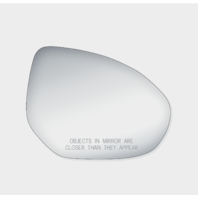 Fits 11-14  Maz 2, 10-13  Maz 3 Right Pass Mirror Glass Lens w/Adhesive