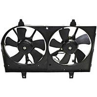 BAP Fits 02-03 Maxima 02-04 I35 Dual Cooling Fan Assembly
