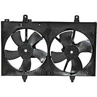 BAP Fits 03-07 Murano Dual Cooling Fan Assambly