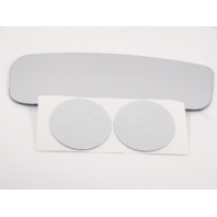 Fits 12-18 NV1500, NV2500, NV3500 Right Pass Lower Convex Mirror Glass Lens Fits Models w/out Extending Mirrors