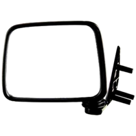 Fits 86-97 D21 Pickup, 87-95 Pathfinder  Left Driver Manual Mirror Assembly