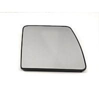 Fits 12-18 Nis NV1500, NV2500, NV3500 Left Driver Upper Mirror Glass w/Holder. Single Arm non Extending