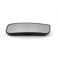 Fits 12-18 Nis NV1500, NV2500, NV3500 Left Lower Convex Mirror Glass w/Holder Models w/out Extendable Tow Type