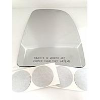 VAM Fits 14-18 Ram Promaster Right Pass Upper Heated Mirror Glass Lens w/Adhesive