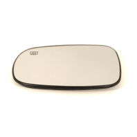 Fits 03-11 Saab 9-3, 03-09 9-5 Left Driver Heated Mirror Glass w/Rear Back Plate