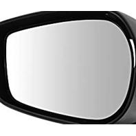 Fits 13-19 Scion FR-S Subaru BRZ, Toyota 86 Left Driver Mirror Glass w/Holder OE