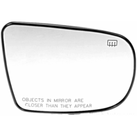 Fits 05-07 Outback, Legacy, B9 Tribeca Right Pass Mirror Glass Heated w/ Holder