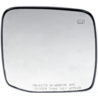 Fits 07-14 Subaru Tribeca Right Passenger Side Heated Mirror Glass w/Holder