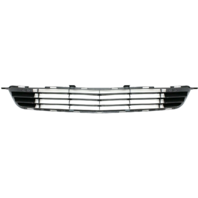 For 09-10 Corolla Front Bumper Grille Textured Black Lower Center