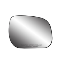 Right Passenger Convex Side Mirror Glass w/ Holder for 09-12 Rav4 USA Built Only