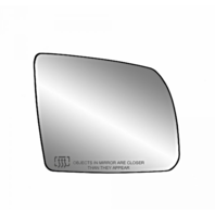 Fits 08-17 Toyota Sequoia 07-19 Tundra Right Pass Mirror Glass Heated w/ Holder*
