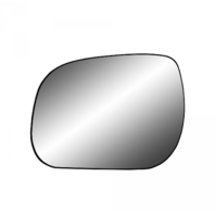 For 09-12 Rav4 Left Driver Mirror Glass w/ Holder  USA Built Models Only