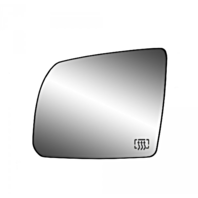 Fits 08-17 Toyota Sequoia 07-19 Tundra Left Driver Mirror Glass Heated w/ Holder