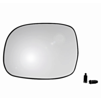 Fits 00-06 Tundra, 01-07 Sequoia Left Driver Heated Mirror Glass w/Rear Holder