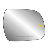 Fits 11-20 Sienna Right Pass Mirror Glass Heated w/Blind Spot Warning w/Holder