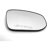 Fits 13-15 Toy Rav4 Right Passenger Heated Convex Mirror Glass w/Holder