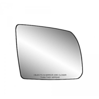 Fits 08-17 Toyota Sequoia 07-19 Tundra Right Pass Mirror Glass w/ Holder*