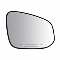 Fits 13-15  Rav4 Right Passenger Mirror Glass w/ Holder Canada Built Models
