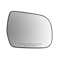 Fits 11-17 Toy Sienna Right Passenger Convex Mirror Glass w/ Rear Holder