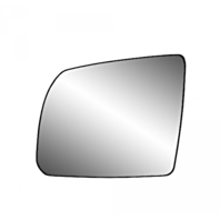 Fits 08-17 Toyota Sequoia 07-19 Tundra Left Driver Mirror Glass w/ Holder