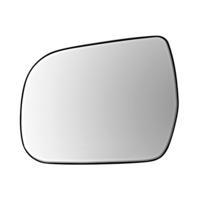 Fits 11-17 Toy Sienna Left Driver Mirror Glass w/ Rear Holder