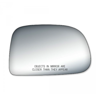 2 Options Fits 01-04 Tacoma Right Pass Manual Mirror Glass Lens w/Adhesive