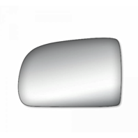 Fits 98-03 Toy Sienna Left Driver Mirror Glass Lens w/ Adhesive