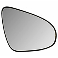 Right Passenger Mirror Glass w/ Rear Holder OE for 15-18 Toyota Yaris