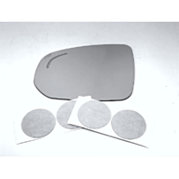 Fits 18-19  V90, XC60 Left Driver Mirror Glass Lens w/ Blind Spot Icon