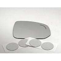Fits 16-19 Volvo XC90 Right Pass Mirror Glass Lens w/ Blind Spot Icon
