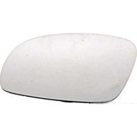 Fits 01-10 VW Beetle Left Driver Mirror Glass Heated w/ Rear Holder