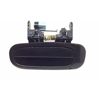 Fits 98-02 Corolla, Prism Left Rear Outside Door Handle Smooth Black