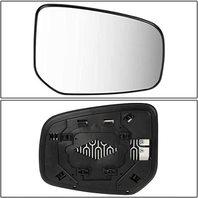 Side View Mirror Glass w/ Holder for 14-18 Mitsu Mirage 17-18 Mirage G4 (Right Passenger Side Heated)