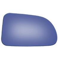Fits 86-88 Mz RX-7 Right Passenger Convex Power Mirror (Glass Lens) Blue Tint