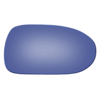 Fits 93-97 626, Cronos, MX-6, Mystere Right Pass Mirror Glass Blue Lens