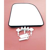 Right Upper Mirror Glass w/Holder OEM 99-07 Super Duty 00-05 Excursion 02-14 Van