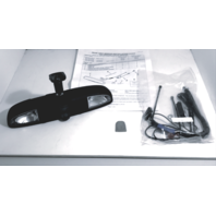 Ford GM Lighted Day Night Interior Rear View Mirror Kit w/Wiring & Mirror Button