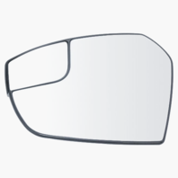 Fits 17-19 FD Escape Left Driver Side Mirror Glass w/ Holder