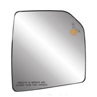 Right Pass Mirror Glass w/ Holder for 15-20 F150 Heated w/ Blind Spot Detection