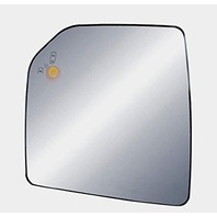 Left Driver Mirror Glass w/Holder for 15-20 F150 Heated w/Blind Spot Detection