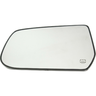 Fits 10-17 Equinox, Terrain Left Driver Heated Mirror Glass w/Rear Holder