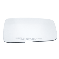 Compatible with 09-18 Ram 1500 2500 3500 Pickup Right Pass Mirror Glass Lens