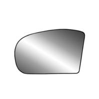 For 03-08  E Class 01-07 C Class Left Mirror Glass w/Holder Heated non Auto Dim