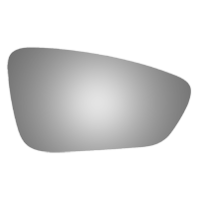 Fits 15-17 Chry 200 Right Passenger Mirror Glass Lens w/Adhesive