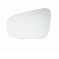 Fits 10-14 Golf, GTI Left Driver Mirror Glass Heated w/ rear Holder w/Angle